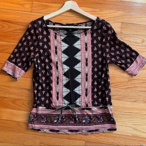 Lucky Brand graphic print top